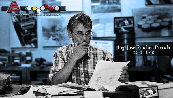 Imagen del Ing.José Sánchez-Fundador-PREMAPISA
